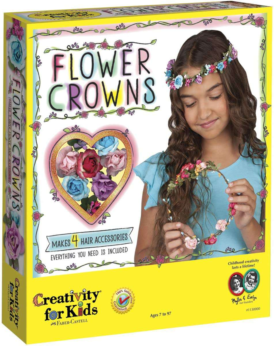 Creativity for Kids - Flower Crowns