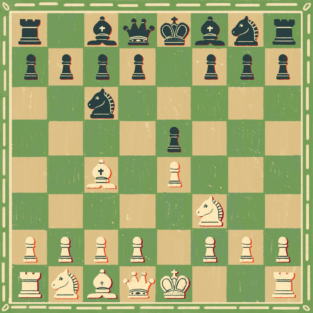 Italian game in chess