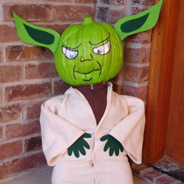 Yoda pumpkin