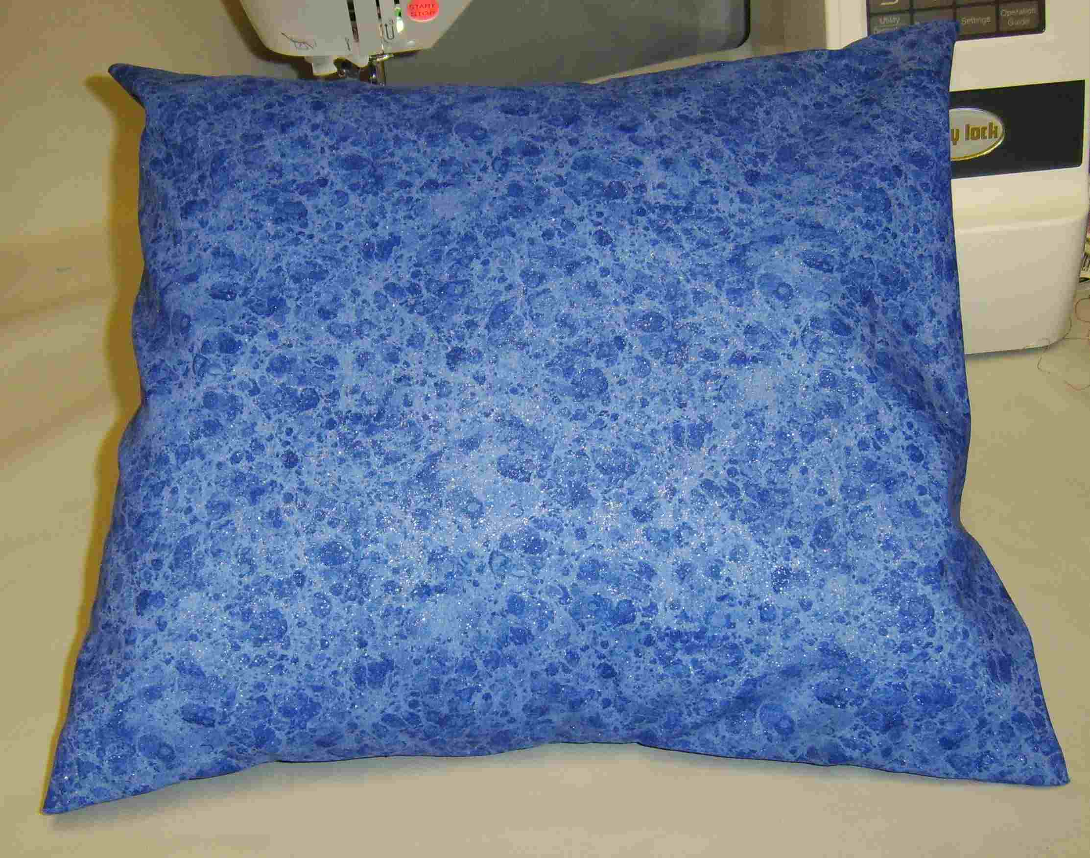 The Front of an Envelope Back Pillow