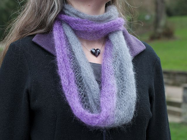 Mohair Crochet Scarf Free Pattern