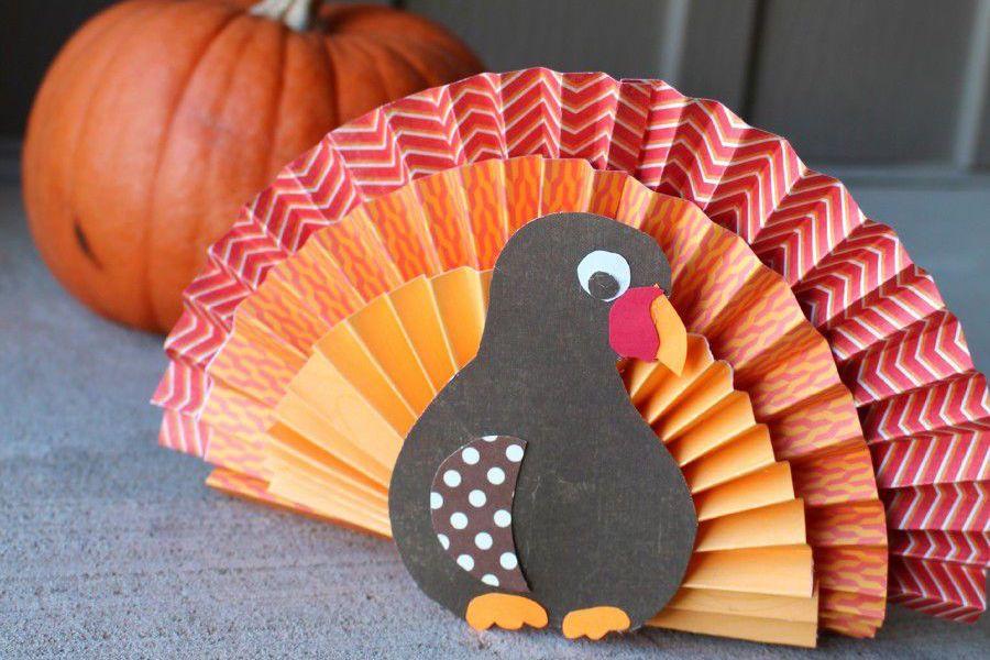 Paper turkey