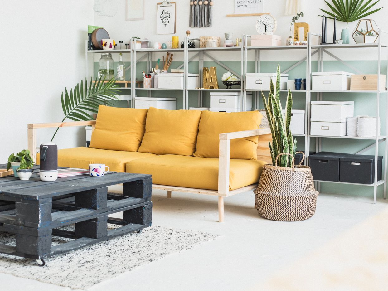 4 DIY Ideas for the Living Room