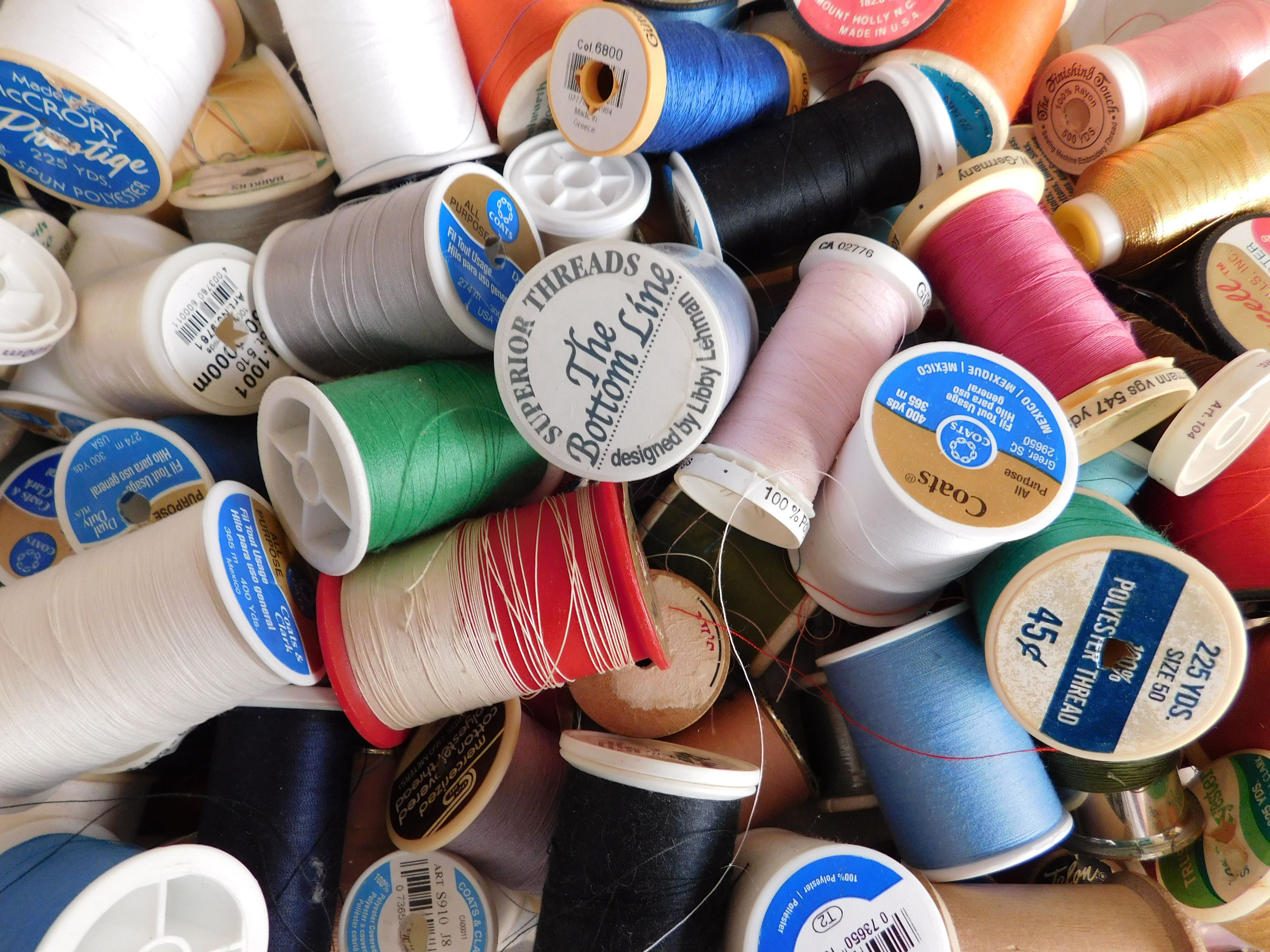 A Collection of Sewing Thread