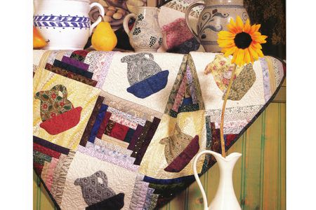 How To Cut Setting Triangles For On Point Quilts