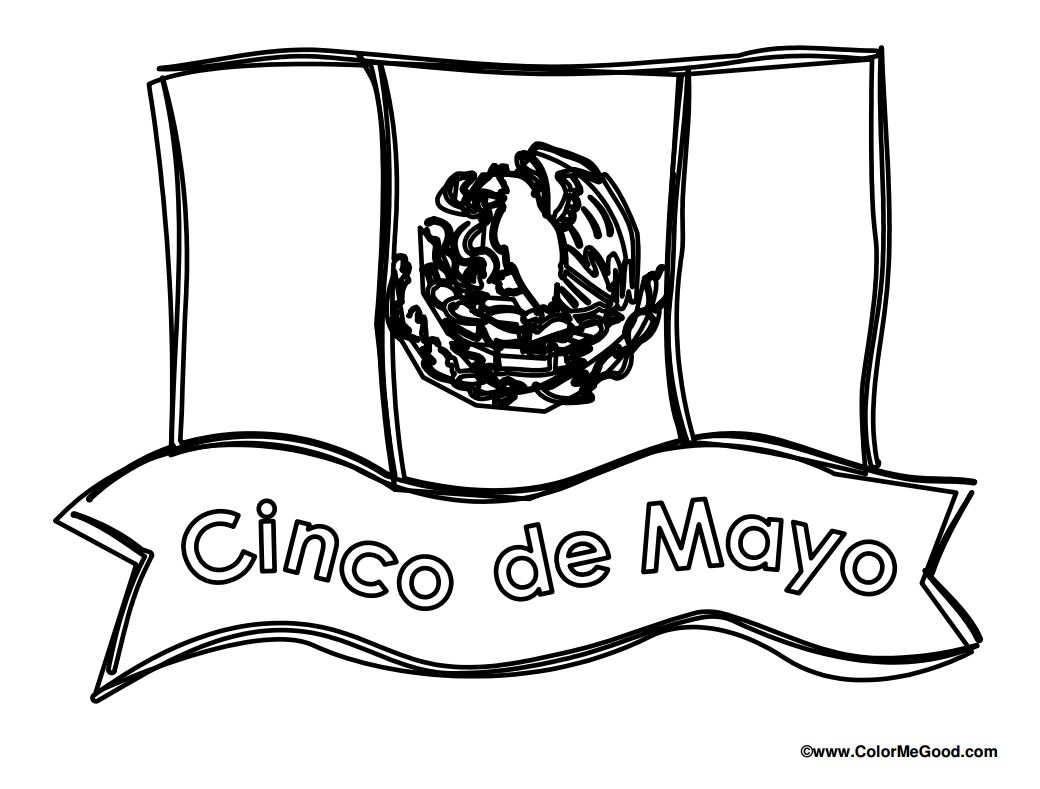 Free Cinco de Mayo Coloring Pages