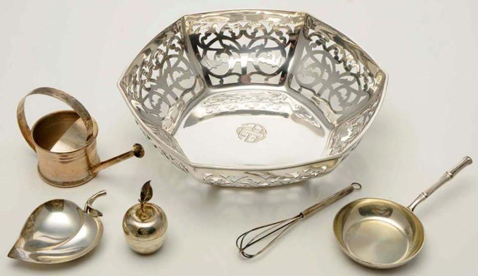 Group of Silver Objects Marked Tiffany & Co.