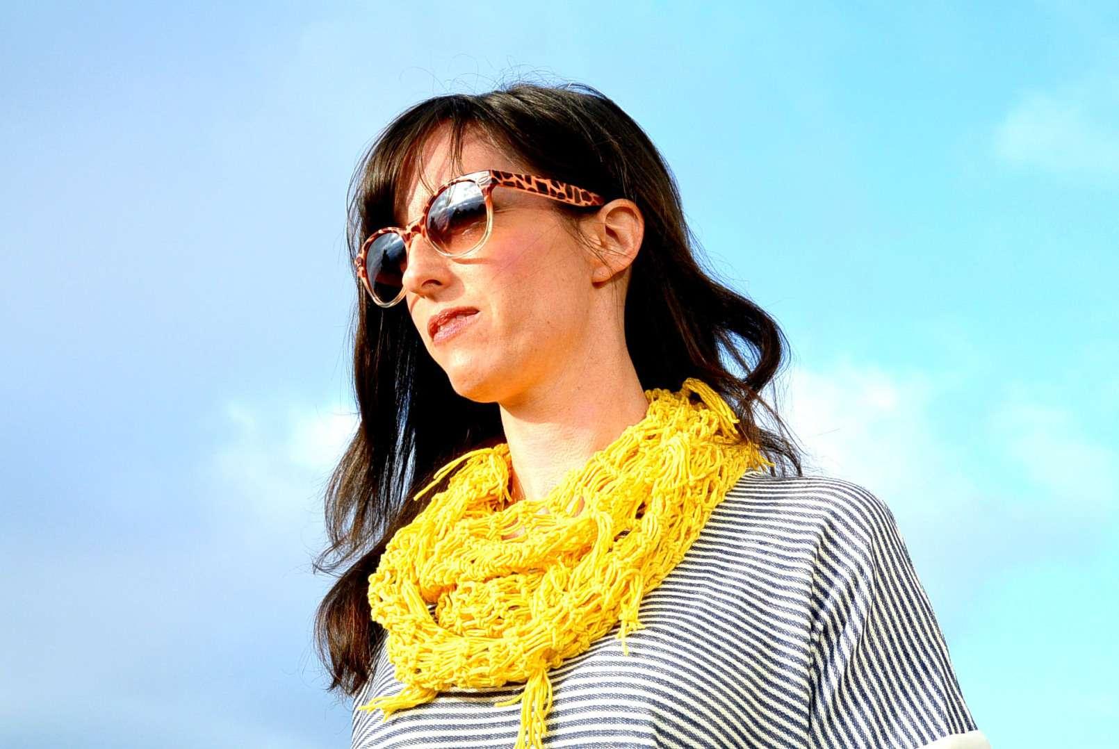 Spring crochet spring