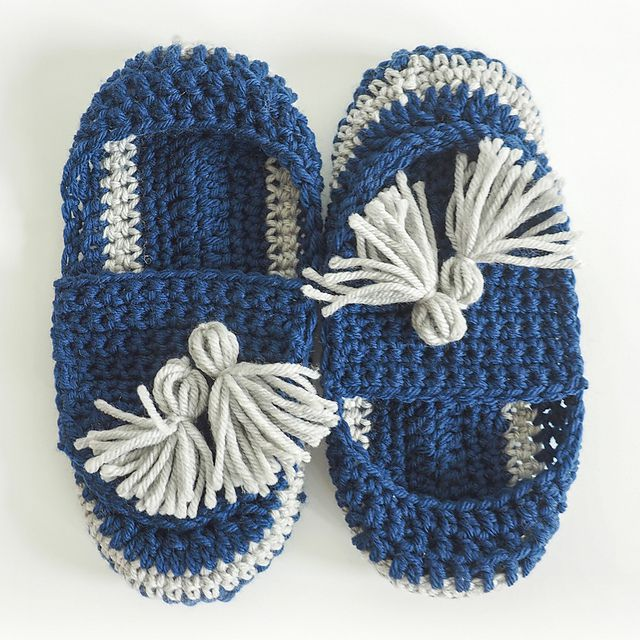 10 Patterns To Make Crochet Slippers