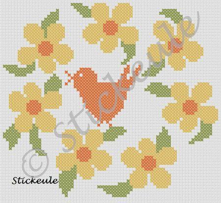 60 Floral Wreath CrossStitch Patterns Unique Cross Stitch Flower Patterns