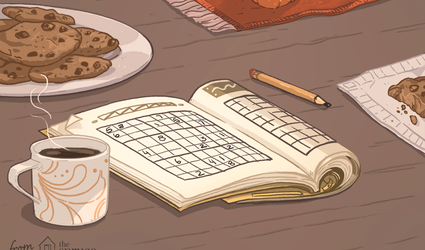 Illustration of sudoku puzzle