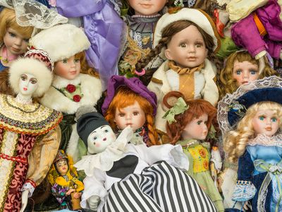 how to tell if a doll is composition