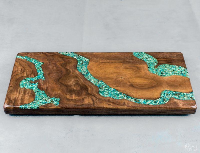 Turquoise Cutting Board