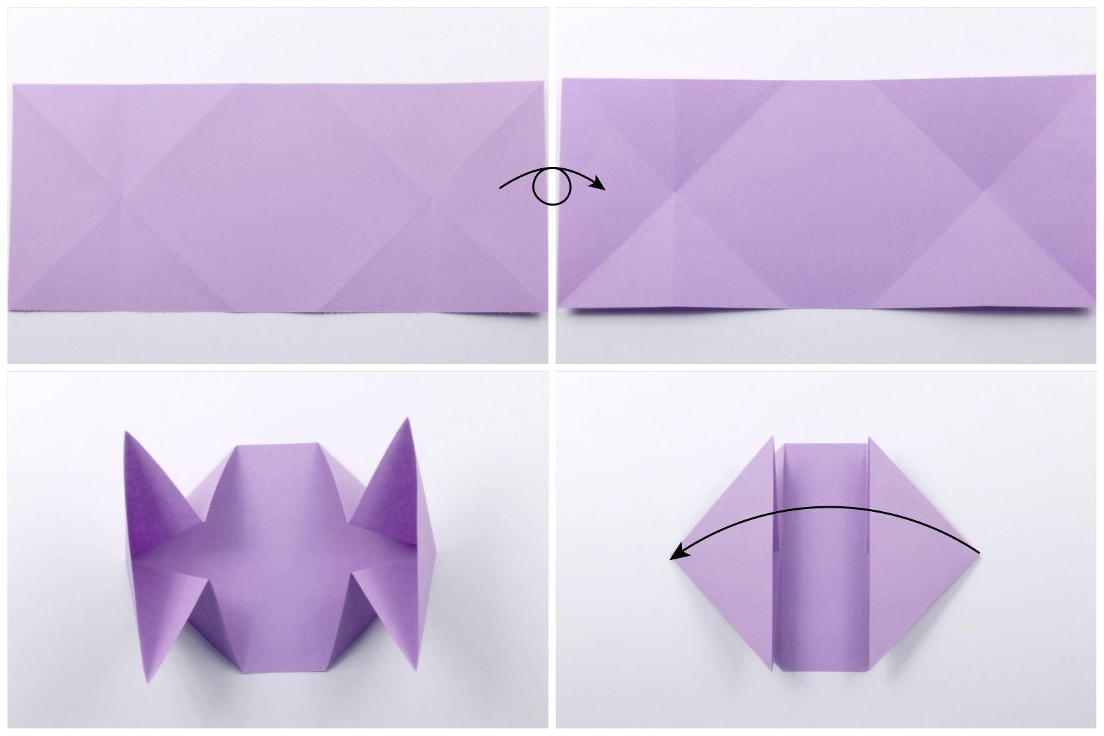 Origami Dollar Heart Tutorial 03