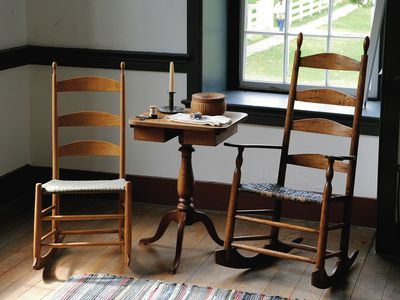 Would You Recognize a Shaker Chair? Antique Collecting - Learn About Shaker Style American Furniture