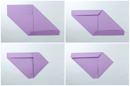 Easy Origami Letter Fold 3