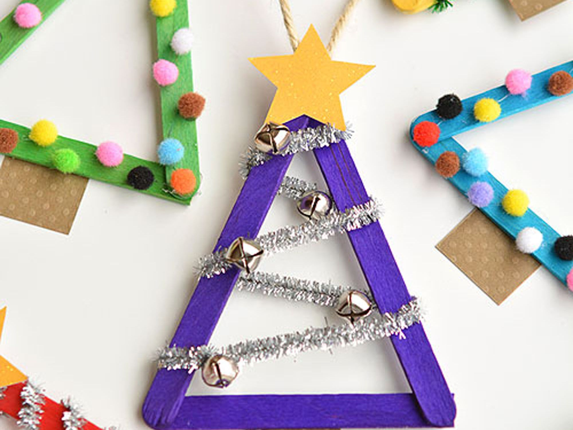 18 Christmas Crafts For Toddlers And Preschoolers