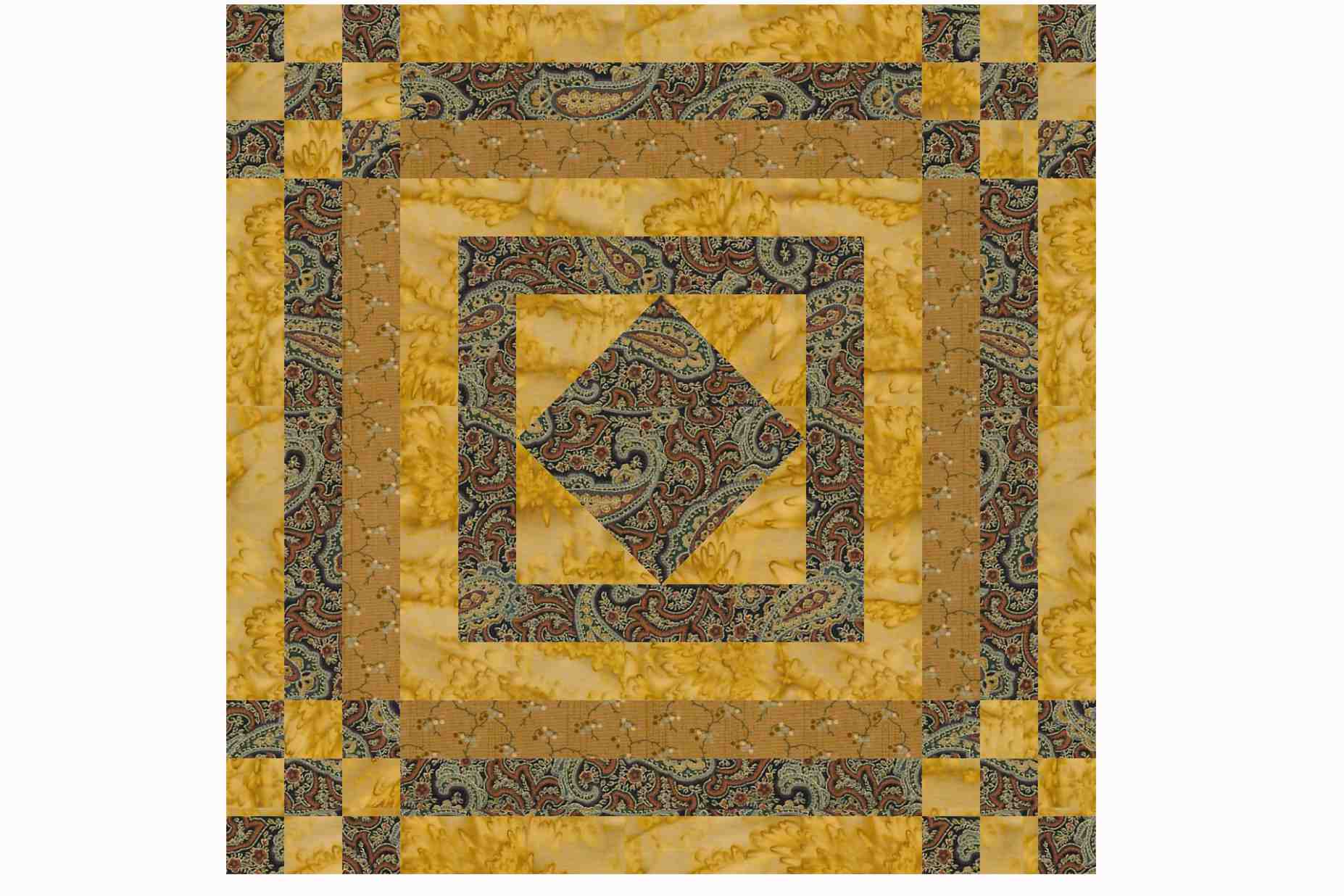 Classic Nine Patch Quilt Block Patterns
