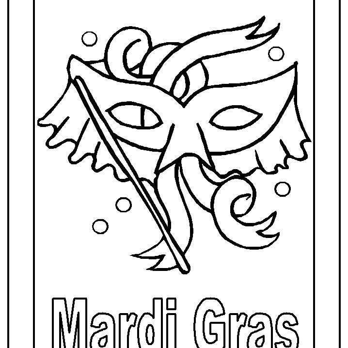 7 Top Places To Find Free Mardi Gras Coloring Pages
