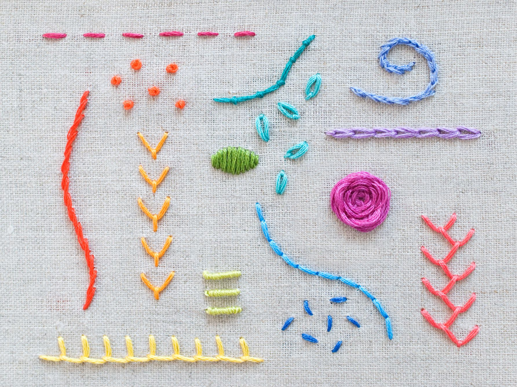 20 Stitches Every Embroiderer Should Know