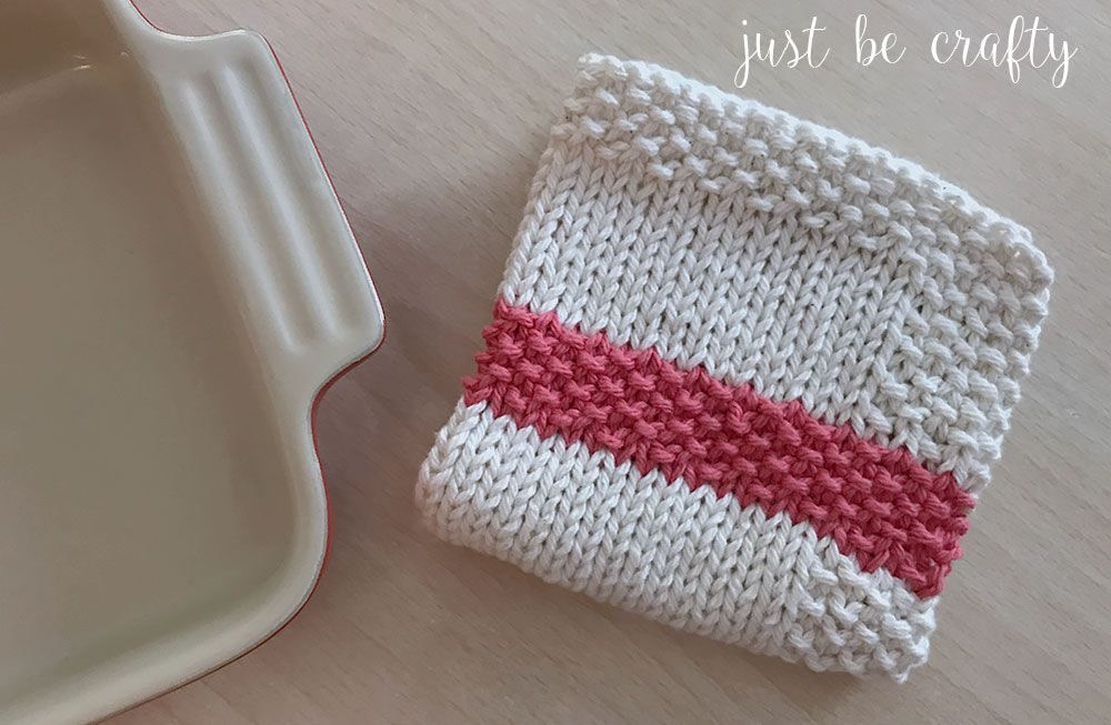 40 Knit Dishcloth Patterns For Beginners Impressive Knitted Dishcloth Patterns