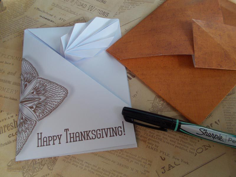 Thanksgiving Printable Card
