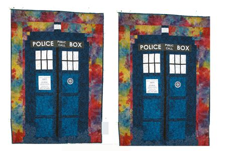 A Tardis Quilt Pattern For Your Favorite Doctor Who Fan