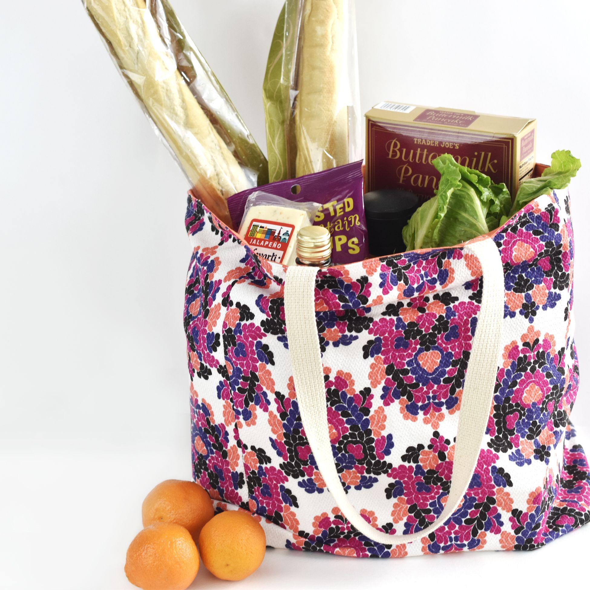 Child/'s Tote Bag with Pocket Cars design