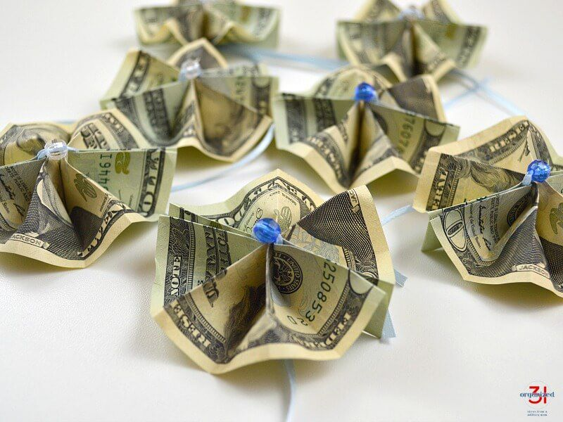 Money Butterfly Origami | Dollar origami, Origami butterfly ... | 600x800
