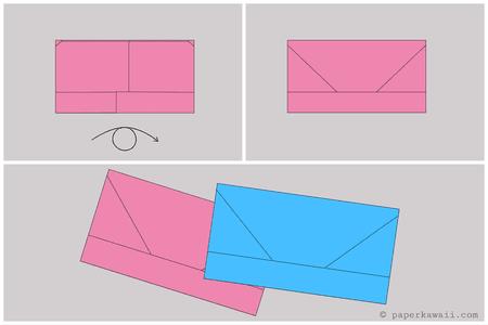 Origami Money Envelope Letter Fold Tutorial