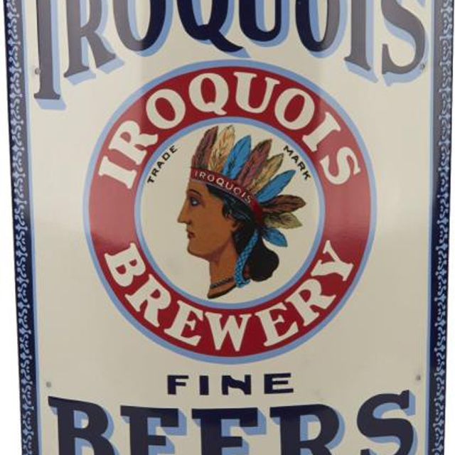 Iroquois Beers Sign
