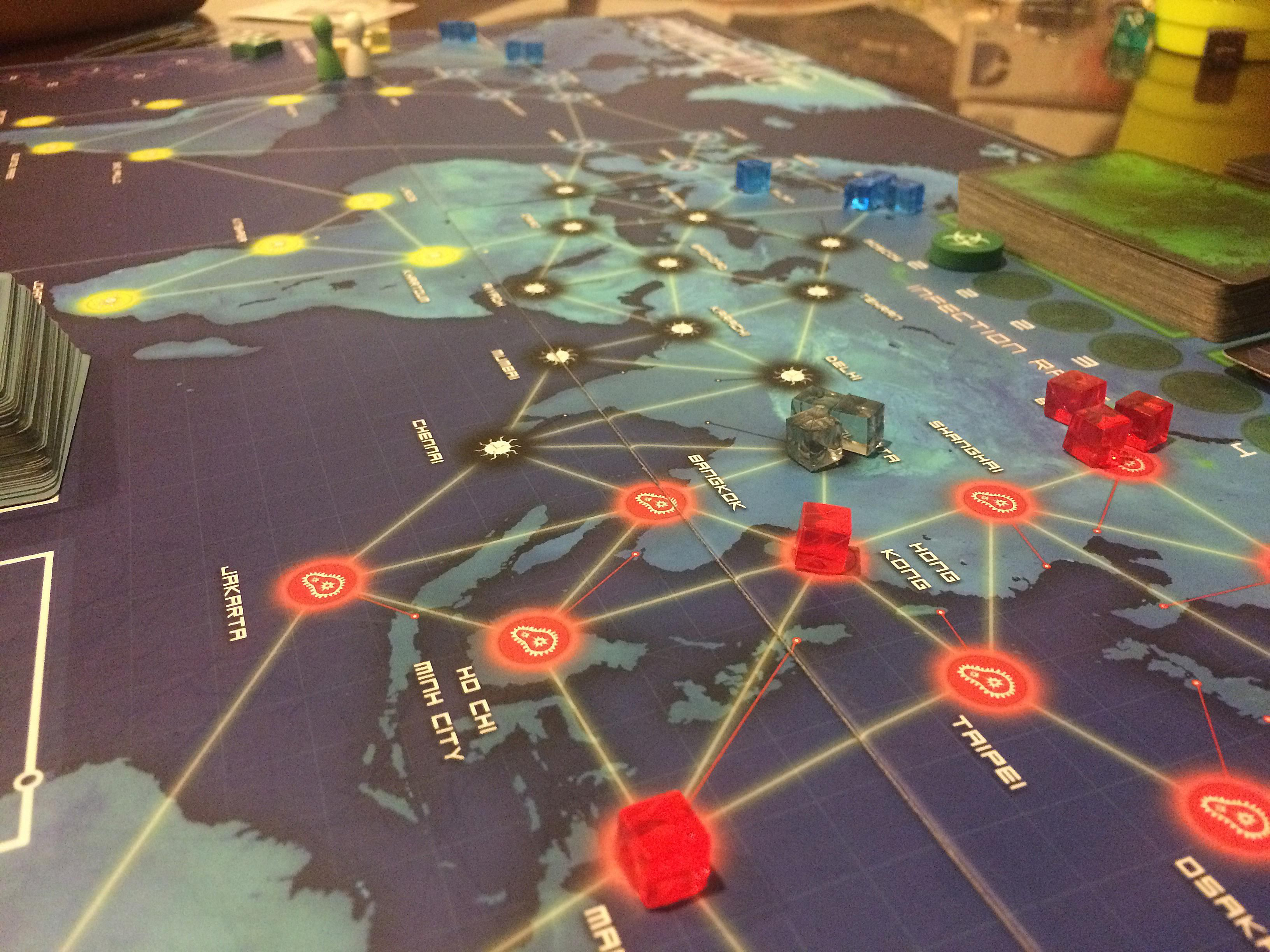 How to Avoid Outbreaks in the Pandemic Board Game
