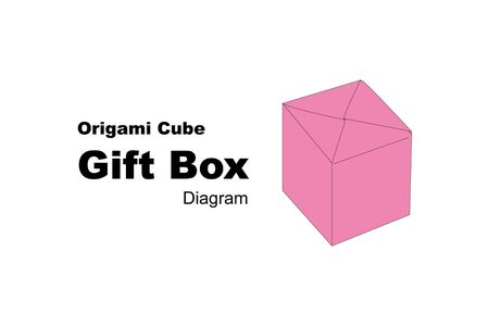 How to Make an Origami Cube Gift Box
