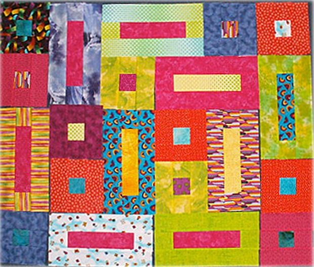 Bricks and Cobblestone Quilt Blocks
