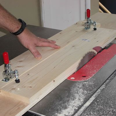 Jointing One Edge of the Boards
