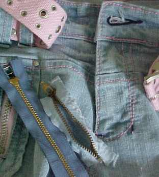 Making a zipper the correct length