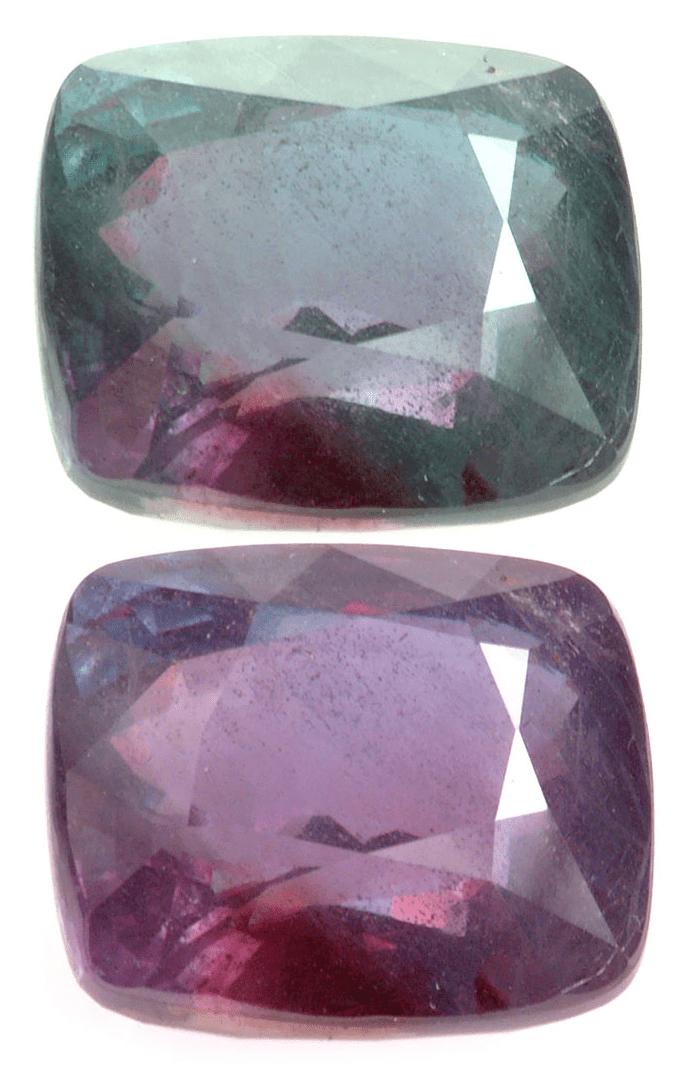 Color Change Alexandrite Gemstone