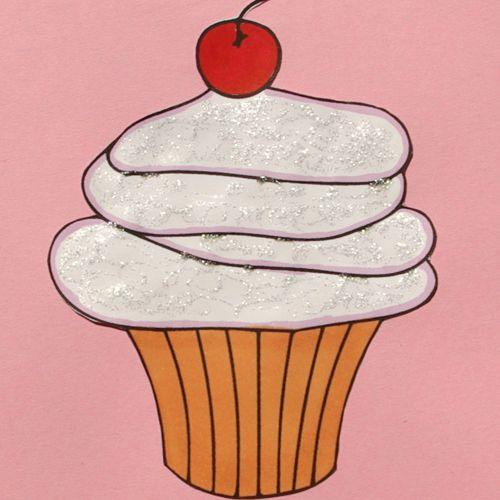 Cupcake Digital Stamp