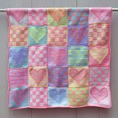 Free Patchwork And Block Design Crochet Quilt Patterns