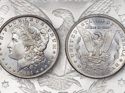 Profile of the 1895 Morgan Silver Dollar Proof