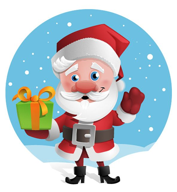979 Free Santa Clipart Images for Your Holiday Projects