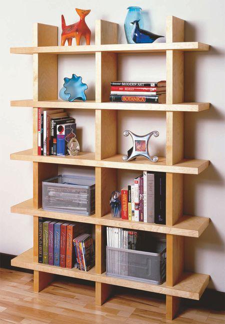 an open bookshelf - Bookshelves Diy