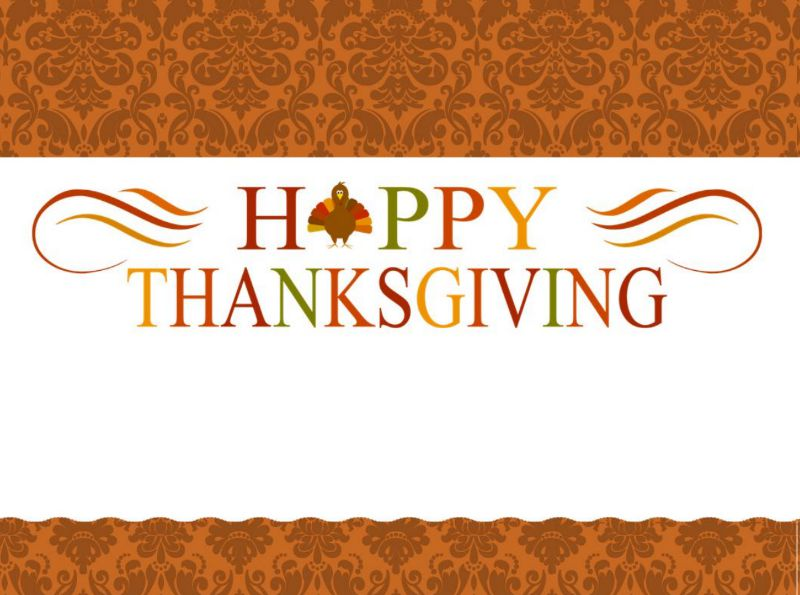a thanksgiving place card that says happy thanksgiving - Thanksgiving Place Cards