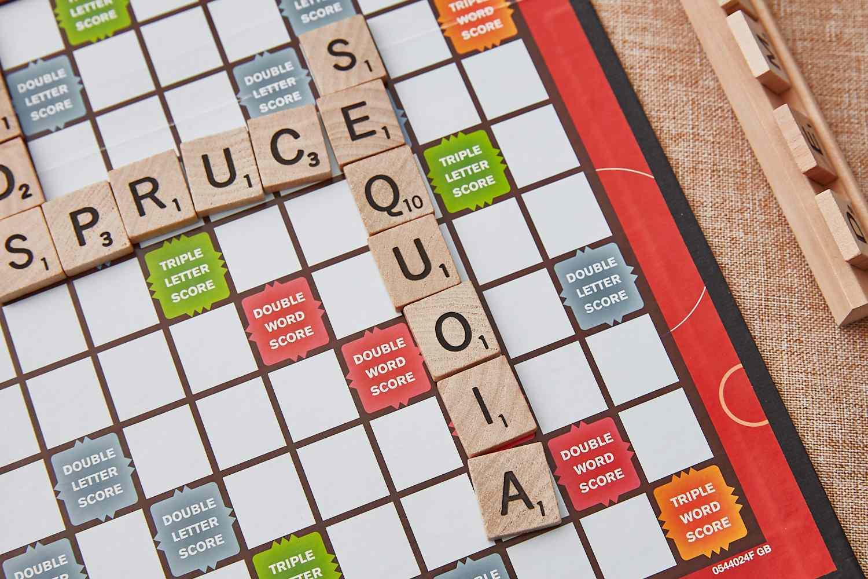 Scrabble vowel heavy seven letter word