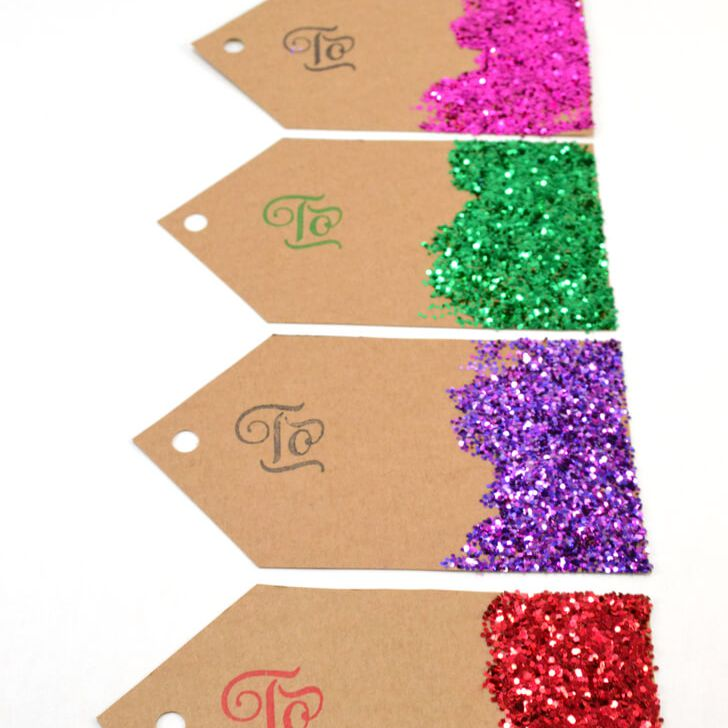 Sparkle Gift Tags