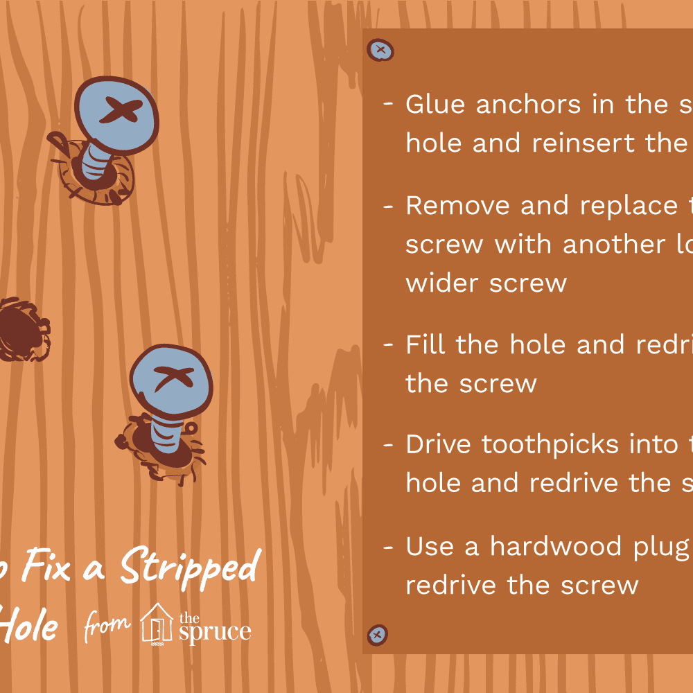 How To Fix A Stripped Hole