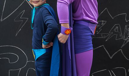 homemade super hero costumes no sew