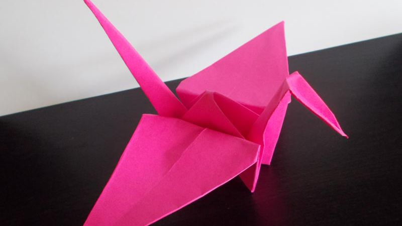 Origami Animals Easy Easy Origami Crane Folding Instructions ... | 450x800