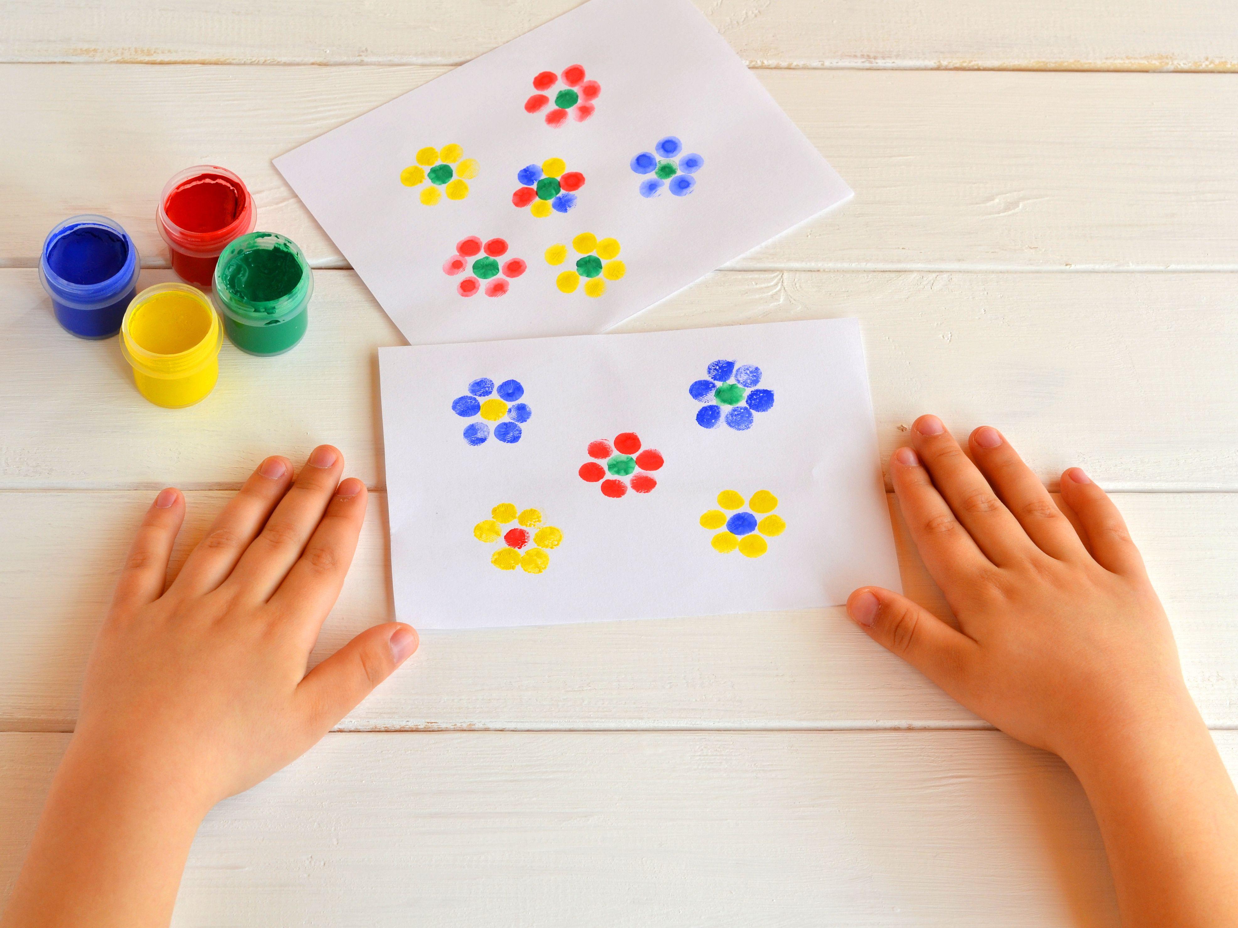 14 Fingerprint Crafts For Kids