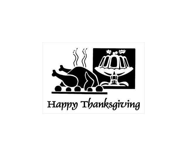 A turkey and Thanksgiving dessert